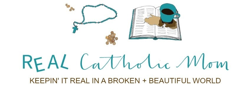 Real Catholic Mom by Heather Renshaw